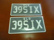 NUMBER  PLATE  USA  SIZE TO  SUIT  YOUR  396 HP CAR