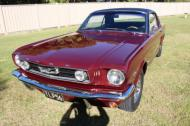 1966 MUSTANG FACTORY GT COUPE A CODE
