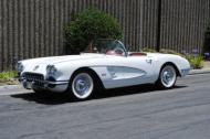 1958 corvette convertible