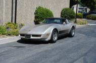 1982 corvette collector edition