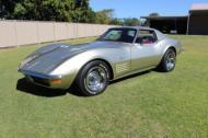 1972  corvette  big  block coupe