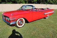 1960 chev  impala convertible