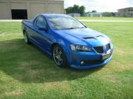 LATE 2009 SSV UTE COMMODORE  GTO FRONT