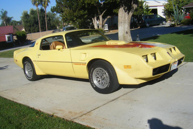 1979 Pontiac Firebird Coupe Trans Am
