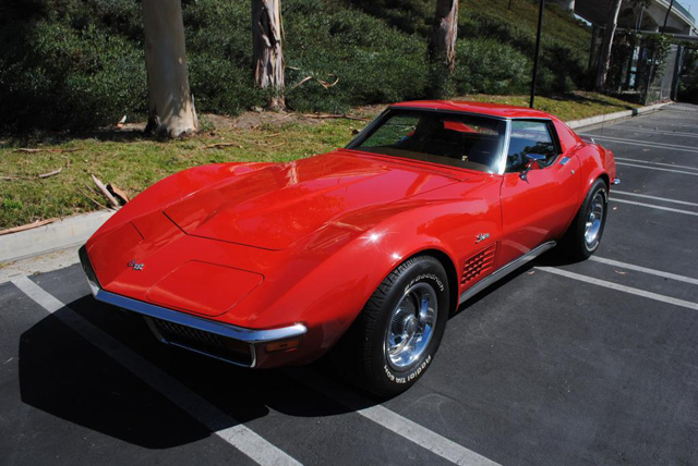 1972 Corvette 350 4 Speed
